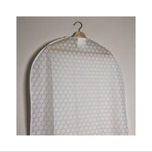 clothes cover, transparent white